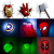 מנורות קיר בצורת גיבורי על Marvel